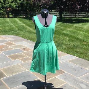 Cynthia Rowley green sleeveless dress size medium
